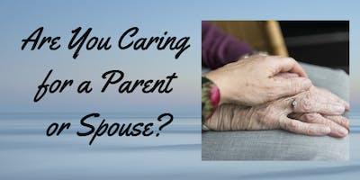 Unique 2-part Caregiver Series
