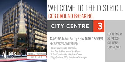 Groundbreaking of City Centre 3 at The Health and Technology District