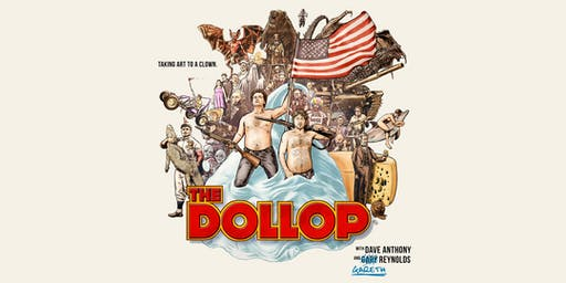 洛杉矶市中心历史宫殿剧院的Dollop播客直播