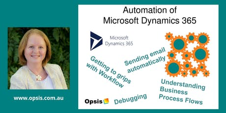 Automation of Microsoft Dynamics 365 tickets