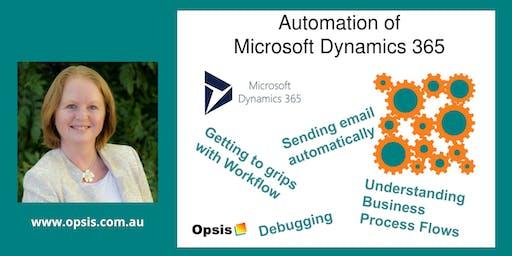 Automation of Microsoft Dynamics 365