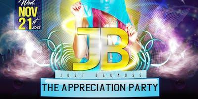 Just because appreciation