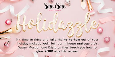Holidazzle Makeup Workshop & Girl\