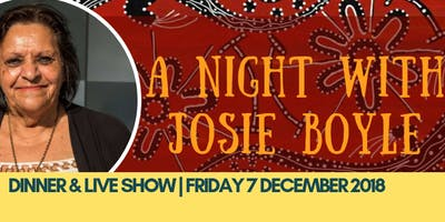 A Night with Josie Boyle | Bush Tucker & Live Show