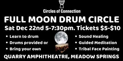 Full Moon Drum Circle