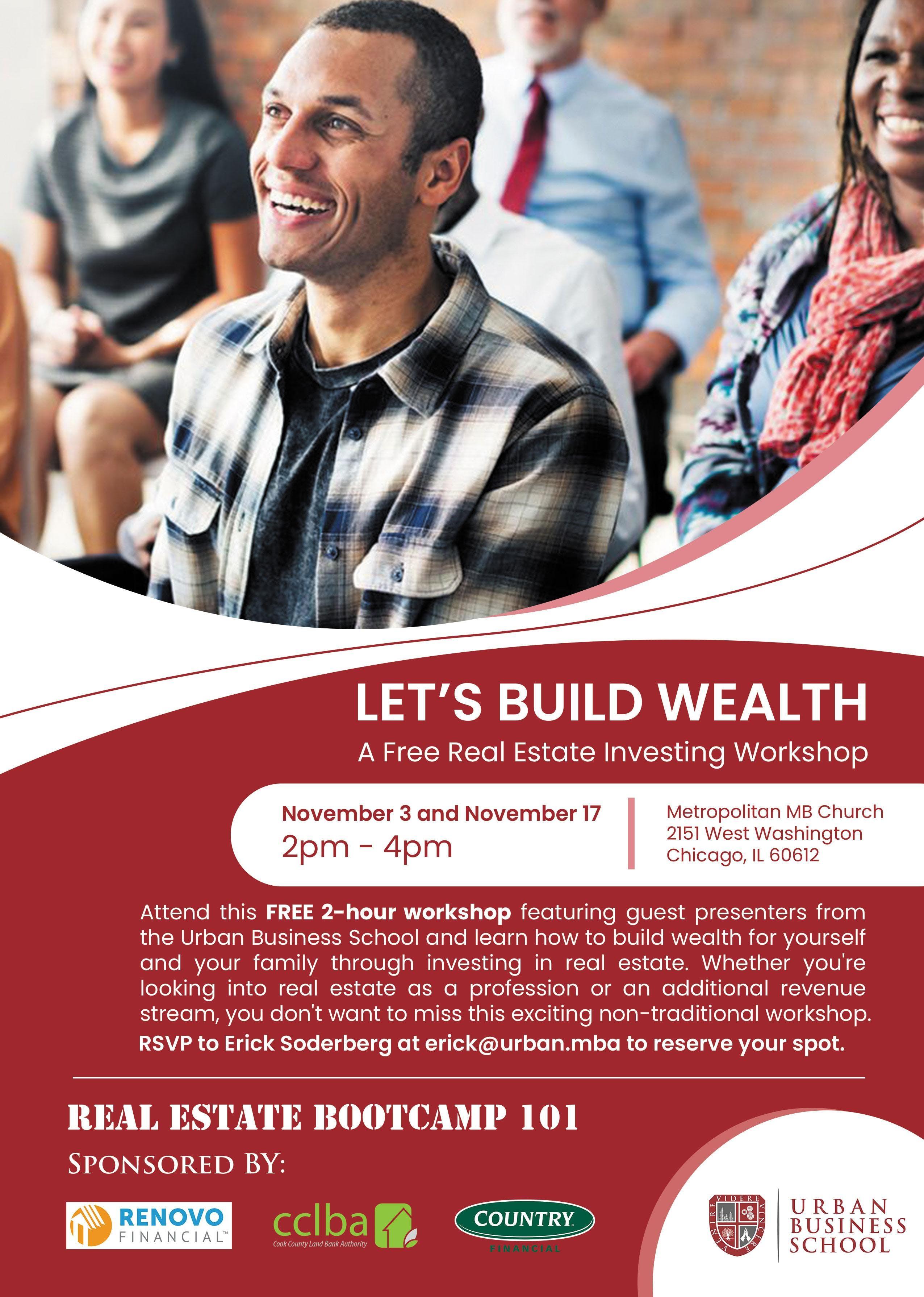 Free Real Estate Investing Workshop