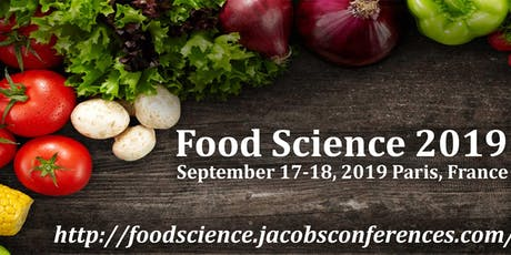 Euro Global Conference On Food Science & Nutrition billets