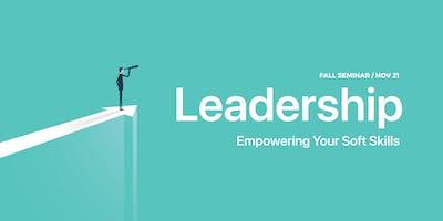Leadership – Empowering your Soft Skills - PMC Fall Seminar