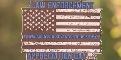 2019 Law Enforcement Appreciation Day 5K & 10K -Flint