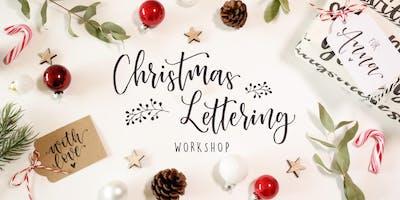 Christmas Lettering Workshop