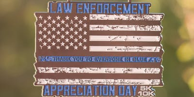 2019 Law Enforcement Appreciation Day 5K & 10K - Fresno
