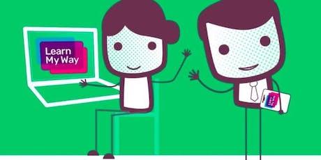 Learm My Way computer class (Padiham) #digiskills tickets