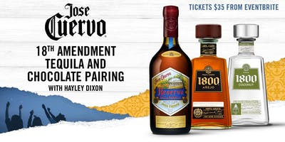 1800 Tequila Masterclass with Hayley Dixon.