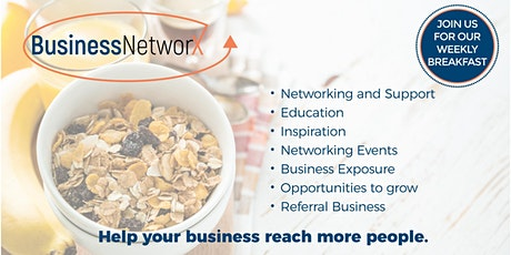 Business NetworX Networking Breakfast - North Adelaide tickets