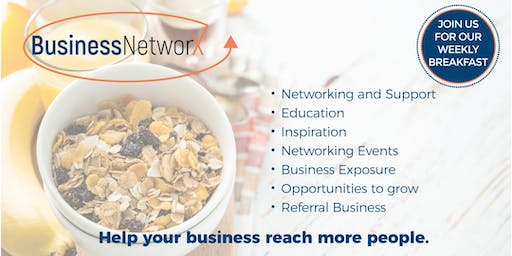 Business NetworX Networking Breakfast - North Adelaide