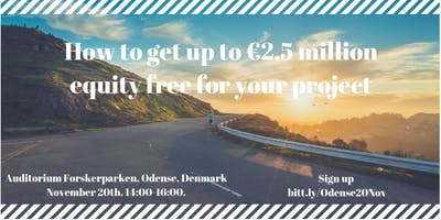 How to get up to €2.5 million equity-free for your project