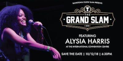 Grand Slam 2018 featuring Alysia Harris