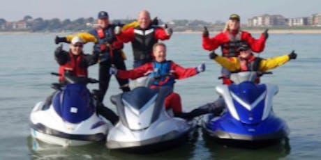 RYA PWC (jetski) Instructor Conversion Course - Poole (Price: £225.00pp) tickets