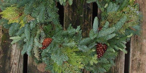 Fresh Holiday Wreath Make & Take