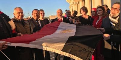 Jersey City Egyptian Flag Raising