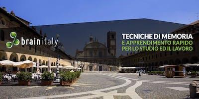 Vigevano: Corso gratuito di memoria