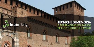 Pavia: Corso gratuito di memoria