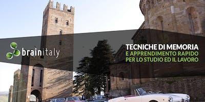 Piacenza: Corso gratuito di memoria