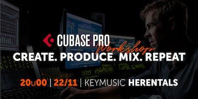 Cubase Pro Workshop KEYMUSIC Herentals