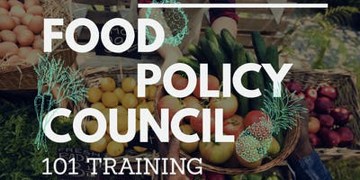 Food Policy Council 101 Training