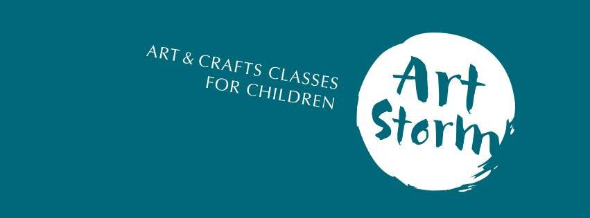 Christmas Arts and Crafts Session with Art Storm for 3-6 Year Olds