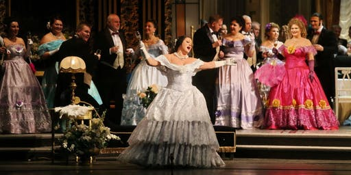 La Traviata Pocket Opera with Ballet + DINNER
