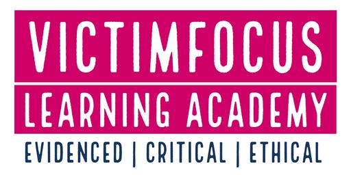 VictimFocus Academy Launch Conference - Glasgow