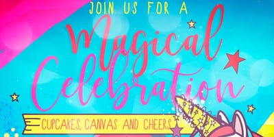 A Magical Celebration Kids Paint Party (Cupcakes, Canvas & Cheers)