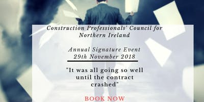 FINAL REMINDER: Conference - Construction Professionals' Council Northern Ireland