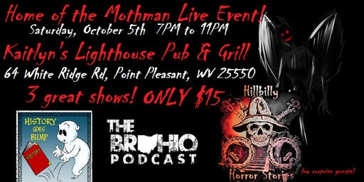 Home of the Mothman Live Event!