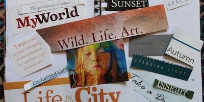 2020: Werde kreativ und setze Deine Ideen um! Vision Board Workshop