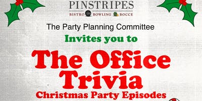 """The Office Trivia \""""The Holiday Party Episodes\"""" at Pinstripes Oak Brook"""