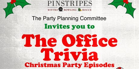 the office trivia the holiday party episodes at pinstripes oak brook tickets