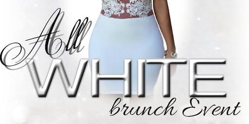 All White Brunch Big Hat Nola 2019