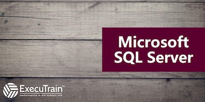 Querying Data with Transact-SQL: Training at ExecuTrain of Wichita