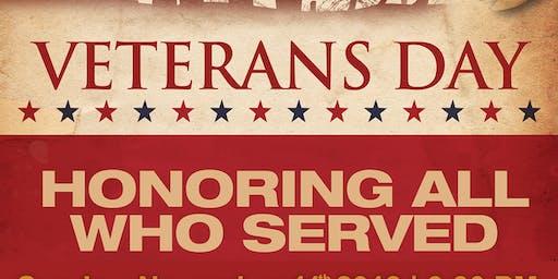 退伍军人节-荣誉兽医服务