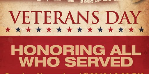 Veteran's Day - Honoring Vets Service