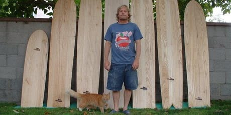 September 2-Day Finless Wooden Surfboard Building Workshop with Jon Wegener at Grain Surfboards in Maine tickets