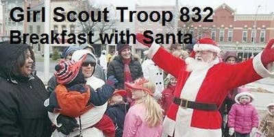 Pancake Breakfast with Santa- Girl Scout Troop 832