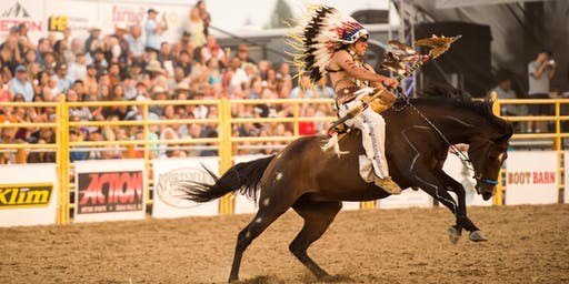 Idaho's Oldest Rodeo, the War Bonnet Round Up 2019