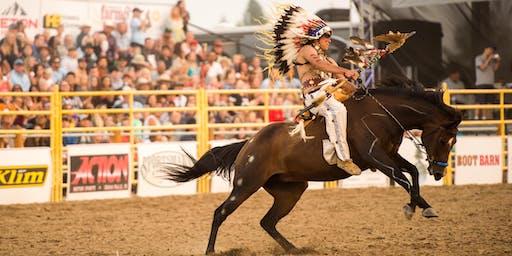 Idaho's Oldest Rodeo, the War Bonnet Round Up 2019
