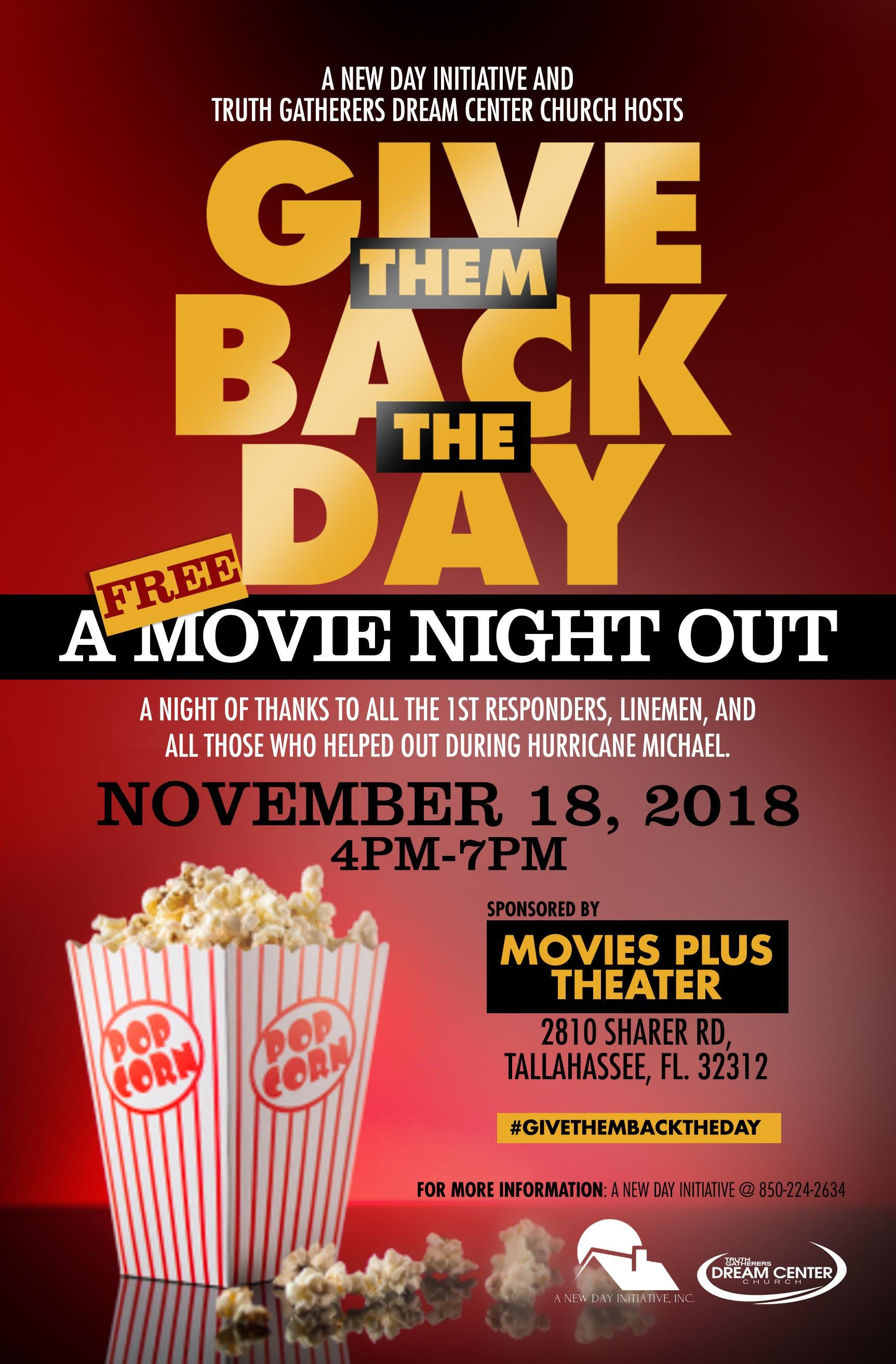 GIVE THEM BACK THE DAY! A NIGHT OF THANKS FOR