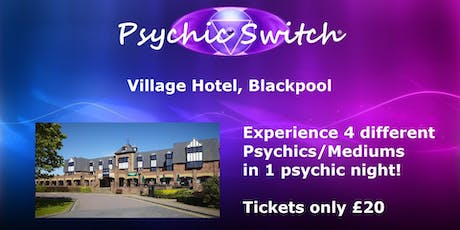 Psychic Switch - Blackpool Tickets, Mon 19 Aug 2019 at 19:00