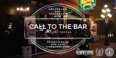 UBC Pre-Law x SFU Pre-Law: Call to the Bar Social Night