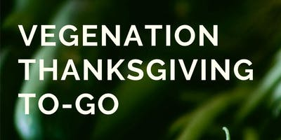 VegeNation thanksgiving to-go
